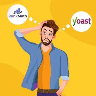 مقایسه ی افزونه rank math یا yoast